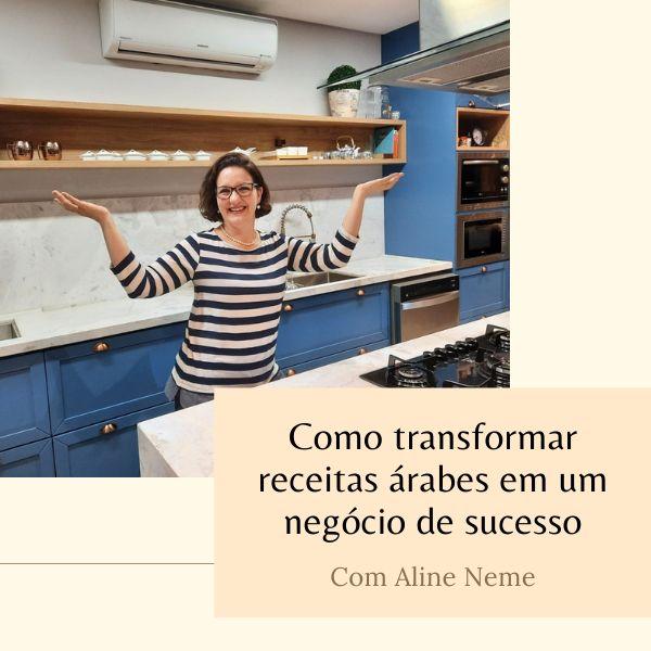 Imagem principal do produto Culinária Árabe sem segredos com Aline Neme