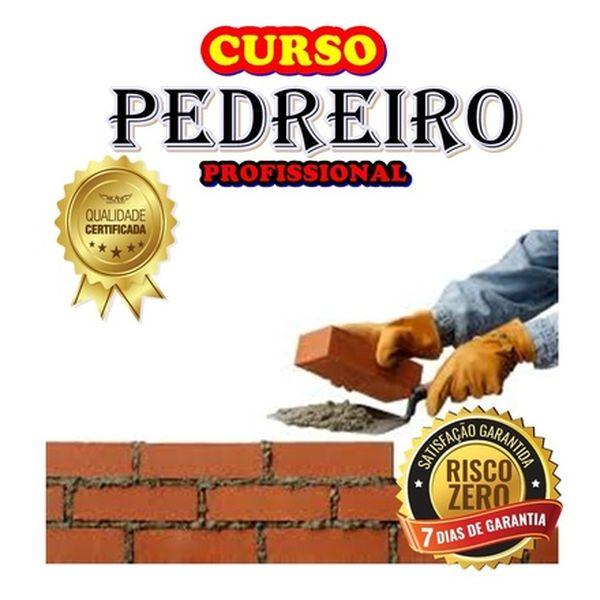 Imagem principal do produto CURSO DE PEDREIRO-COM CERTIFICADO