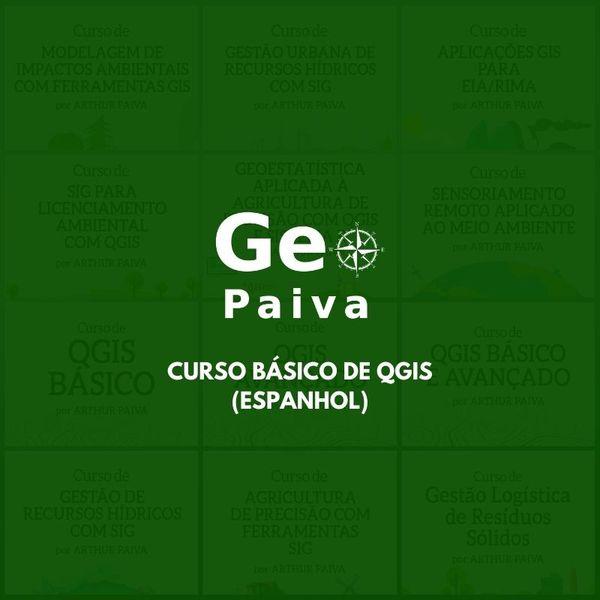 Imagem principal do produto Curso Básico de QGIS [Espanhol] [Actualizado en 2021]