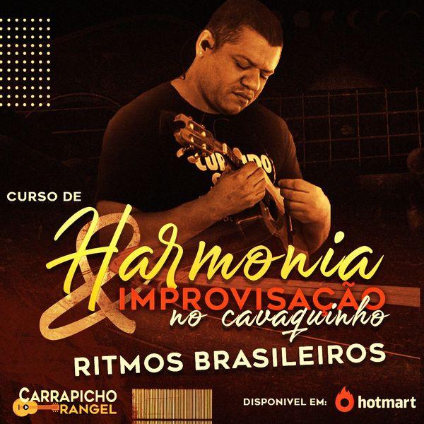 Imagem principal do produto Harmonia e Improvisação no Cavaquinho - Ritmos Brasileiros