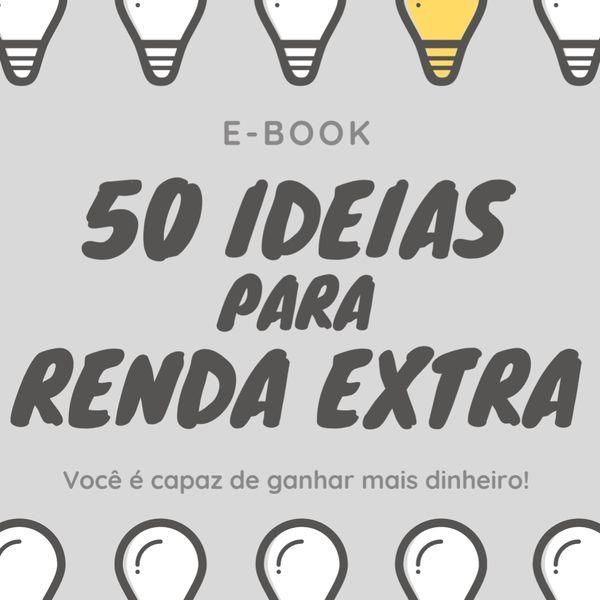 Imagem principal do produto 50 IDEIAS PARA RENDA EXTRA