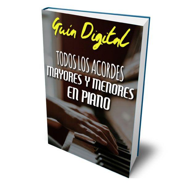 Imagem principal do produto Guia digital   Todos los acordes mayores y menores