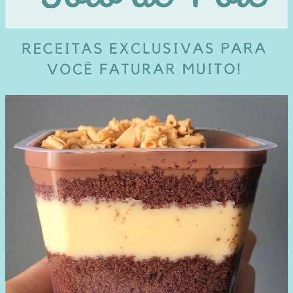 Imagem principal do produto BOLO DE POTE DE SUCESSO