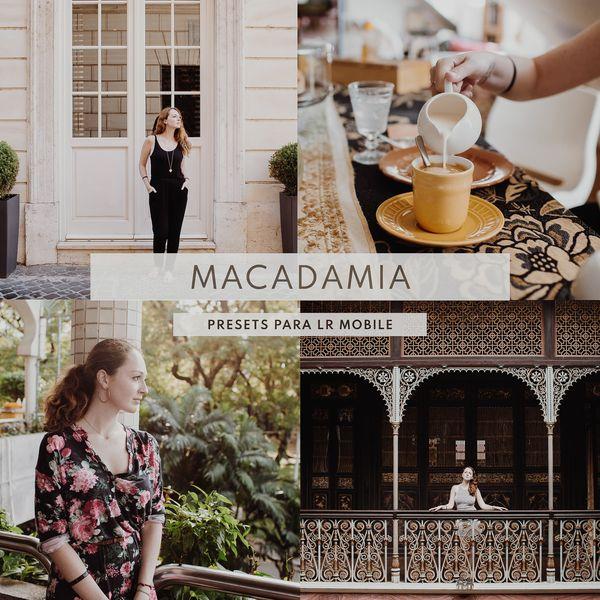 Imagem principal do produto 5 Presets Macadamia (CELULAR)