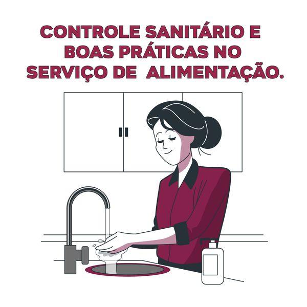 Imagem principal do produto Controle Sanitário e  Boas Práticas no Serviço de  Alimentação