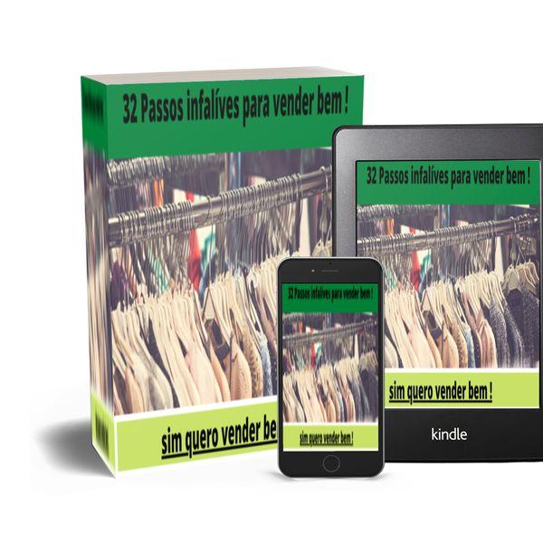 Imagem principal do produto 32 passos infalíves para vender bem!