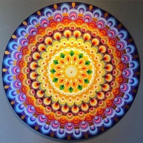 Imagem principal do produto Mandala Floral em Esferas®