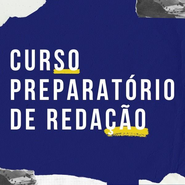 Imagem principal do produto CURSO PREPARATÓRIO DE REDAÇÃO