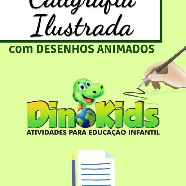 Imagem principal do produto LETRAS CURSIVAS - COM DESENHOS ANIMADOS