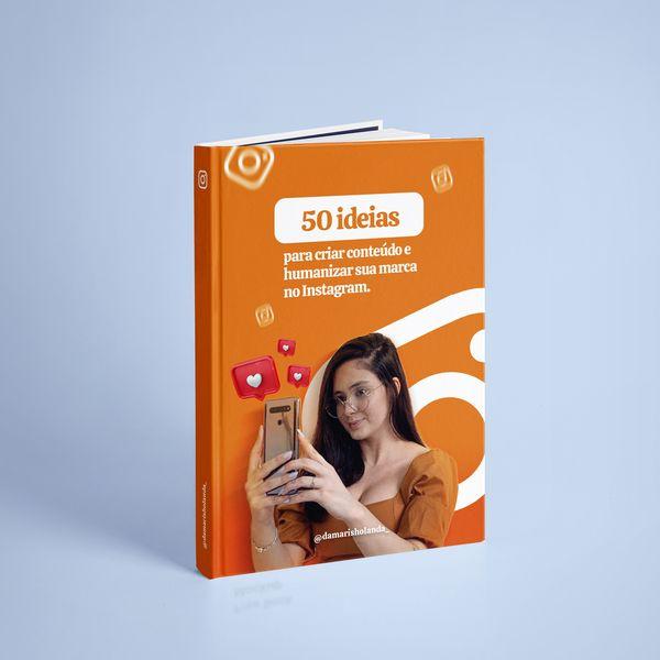 Imagem principal do produto 50 dicas para você criar seus contéudos.