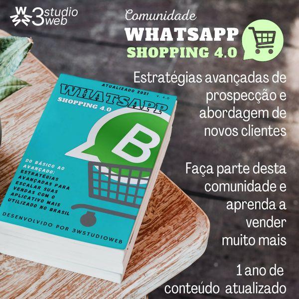 Imagem principal do produto Comunidade Whatsapp Shopping 4.0
