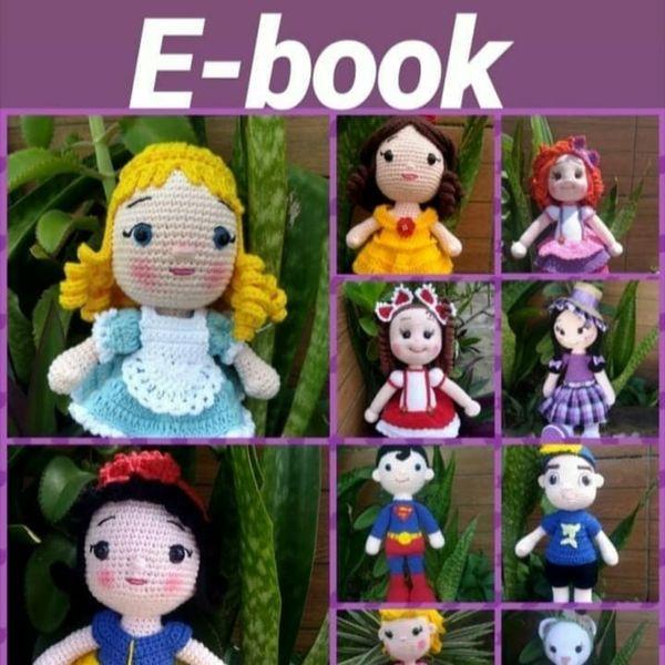Receita Bonecas de Amigurumi com Linha Fiore - Blog do Bazar Horizonte | 600x600