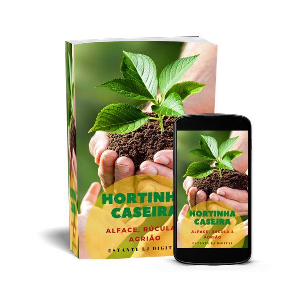 Imagem principal do produto HORTINHA CASEIRA - Alface, Rúcula & Agrião