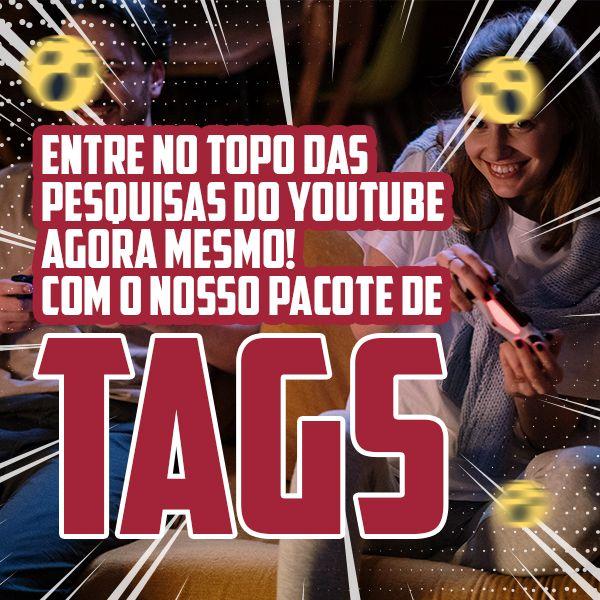 Imagem principal do produto Tags para Youtube Tema: Jogos Online/Games Online