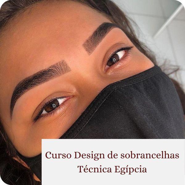 Imagem principal do produto Curso Design de Sobrancelha Egípcia