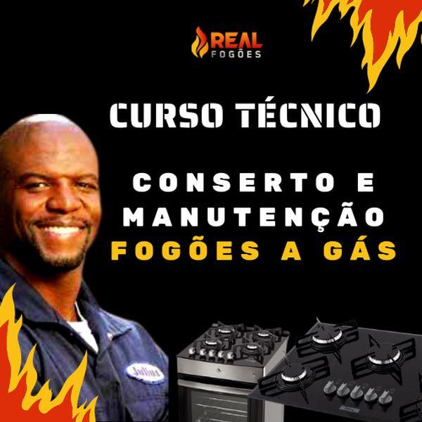 Imagem principal do produto Curso Técnico l Conserto e Manutenções Fogões a Gás