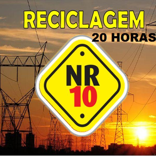 Imagem principal do produto Curso de NR 10 RECICLAGEM com módulo exclusivo de sistemas fotovoltaicos