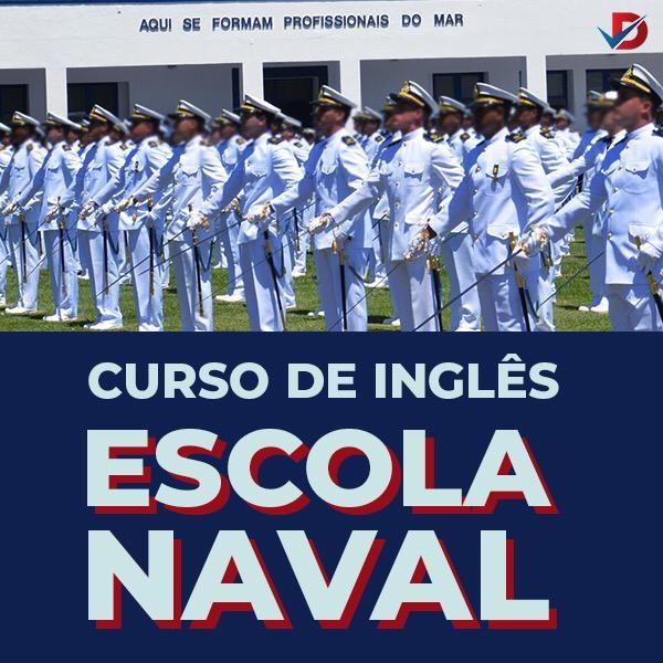 Imagem principal do produto ESCOLA NAVAL- Curso de Inglês preparatório completo