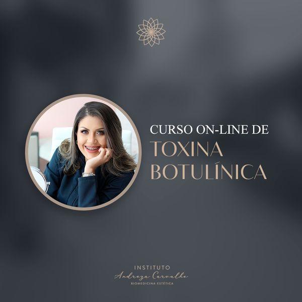 Imagem principal do produto CURSO ONLINE DE TOXINA BOTULÍNICA
