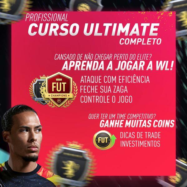 Imagem principal do produto CURSO ULTIMATE - MELHORE SUA JOGABILIDADE NO FIFA ULTIMATE TEAM