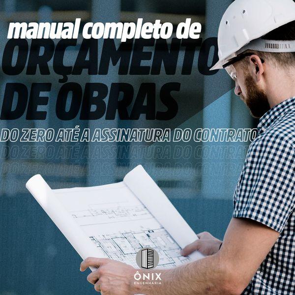 Imagem principal do produto Manual Completo de Orçamento de Obras