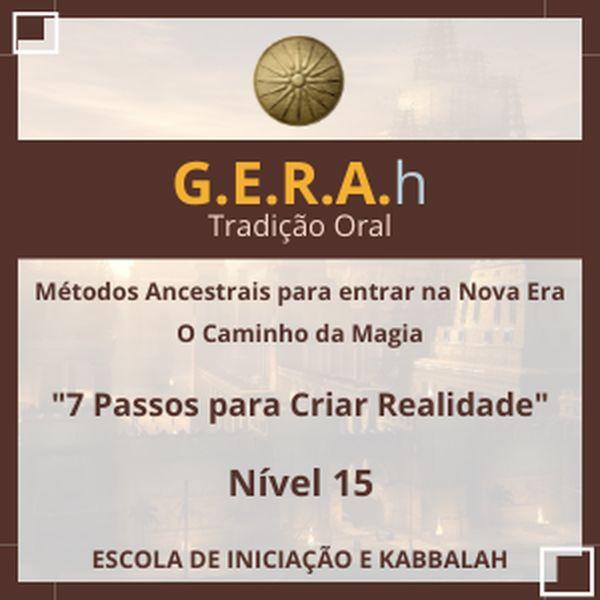 Imagem principal do produto Grupo de Iniciação Nível 15