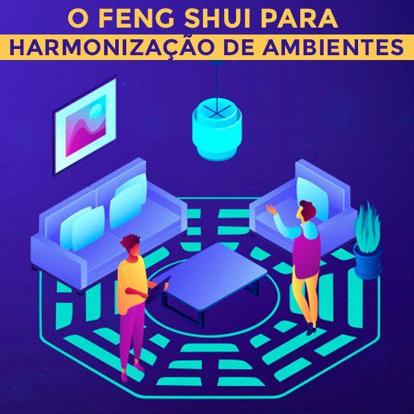 Imagem principal do produto O FENG SHUI E A Harmonização de Ambientes - Sua casa mais harmoniosa e equilibrada  (para leigos e projetistas)