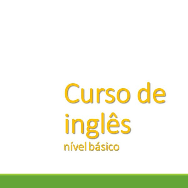 Imagem principal do produto Curso de inglês básico
