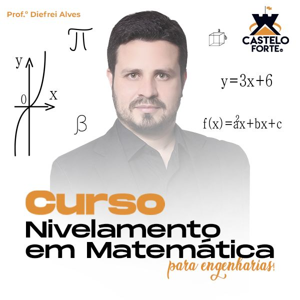 Imagem principal do produto Nivelamento de Matemática para engenharias