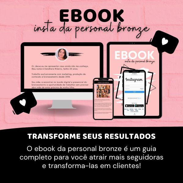 Imagem principal do produto EBOOK INSTA DA PERSONAL BRONZE