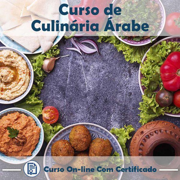 Imagem principal do produto Curso Culinária Árabe