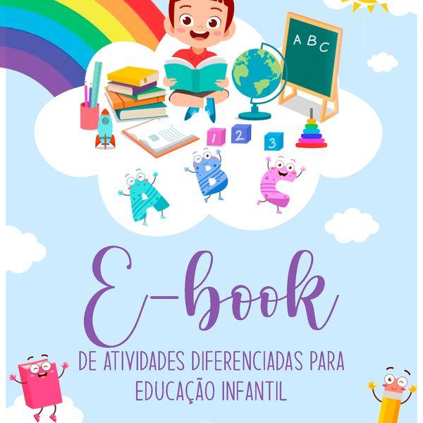 Imagem principal do produto Ebook de Atividades Pedagógicas.