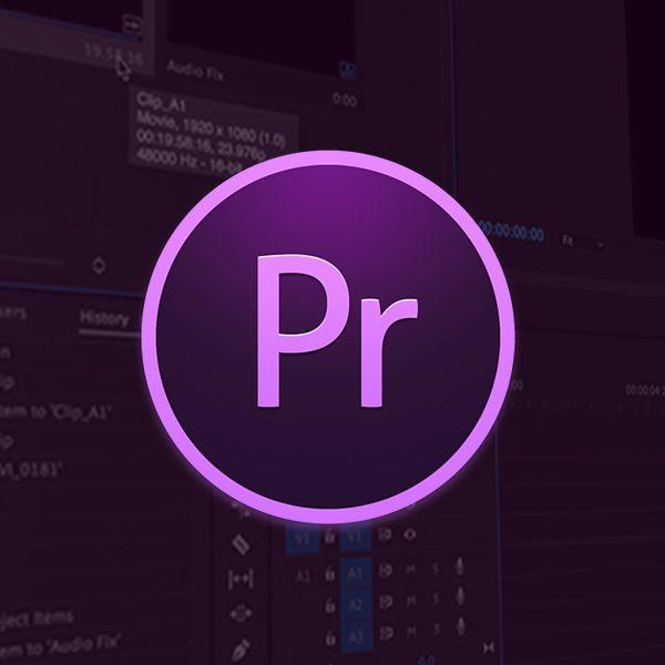 Imagem principal do produto Curso básico Edição de vídeo com Adobe Premiere