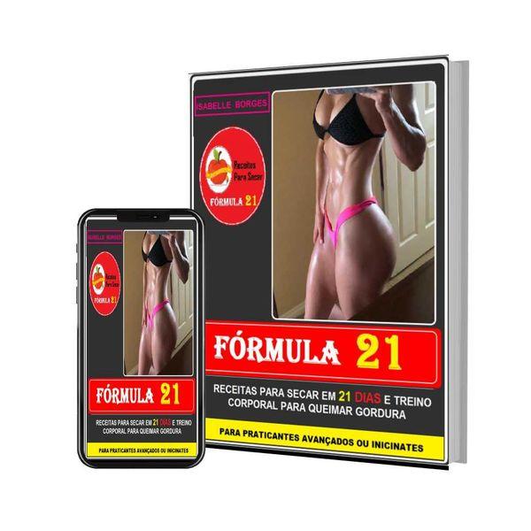 Imagem principal do produto Fórmula 21 - Receitas para Secar em 21 Dias
