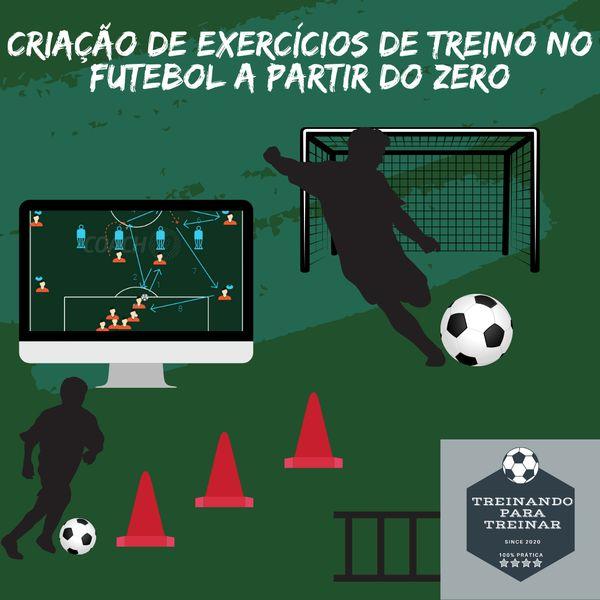 Imagem principal do produto Criação de exercícios de treino no futebol a partir do ZERO.