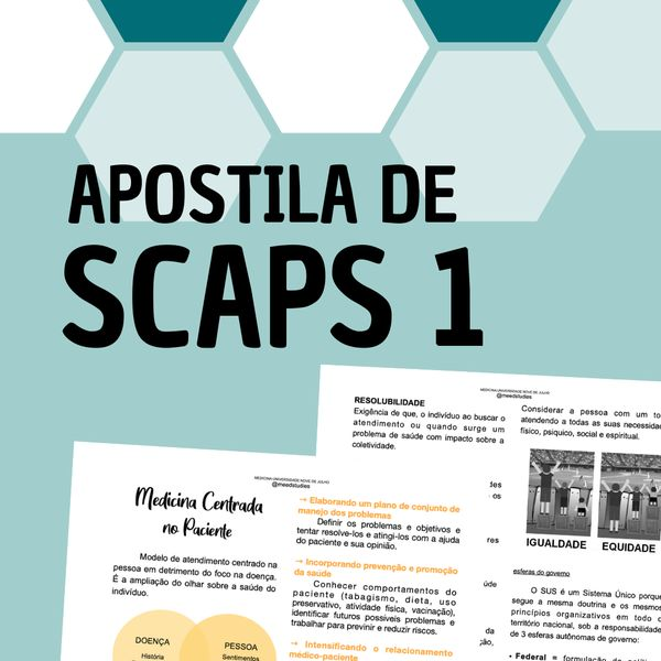 Imagem principal do produto APOSTILA DE SCAPS 1