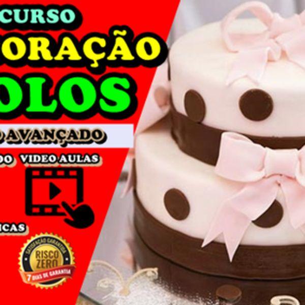 Imagem principal do produto CURSO DE DECORAÇÃO DE BOLOS- COM CERTIFICADO