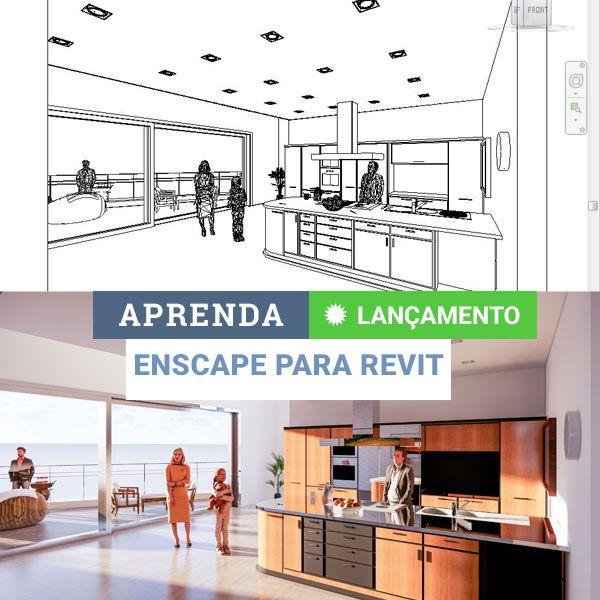 Imagem principal do produto Curso de Enscape para Revit   Render e Realidade Virtual