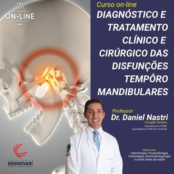 Imagem principal do produto Curso de Diagnóstico e Tratamento Clínico e Cirúrgico das Disfunções Têmporo Mandibulares