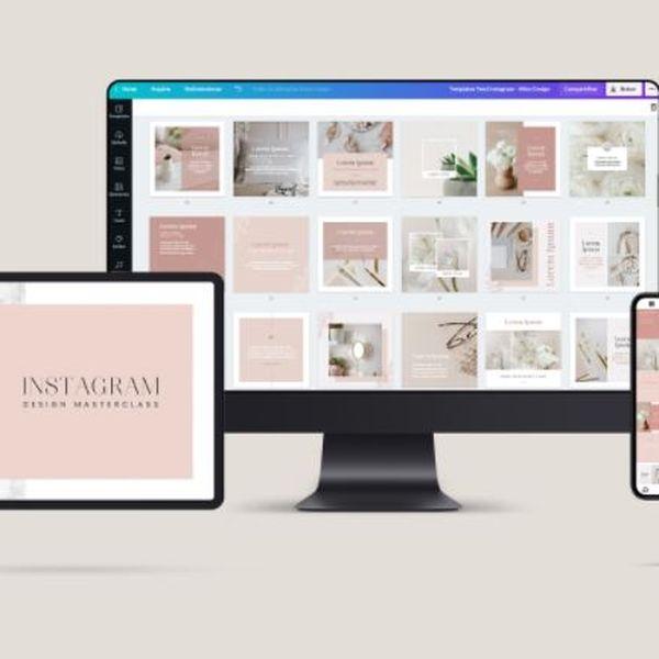 Imagem principal do produto Instagram Design Pack