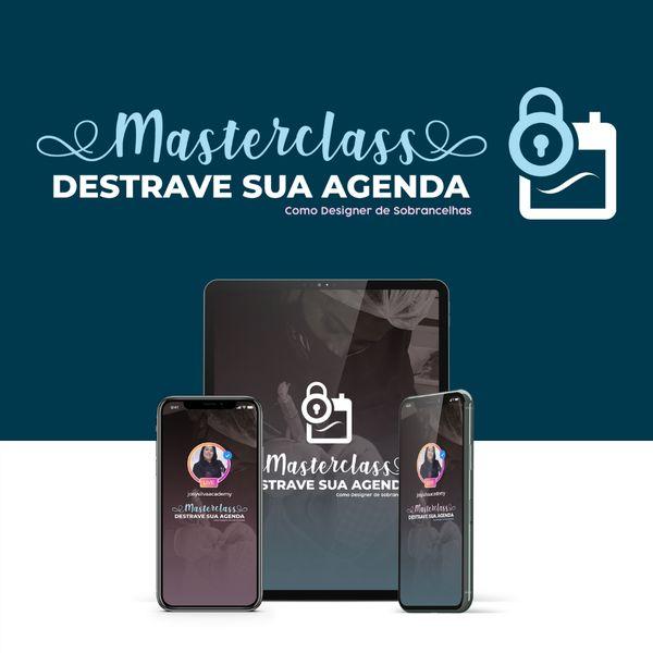 Imagem principal do produto DESTRAVE SUA AGENDA COMO DESIGNER DE SOBRANCELHAS