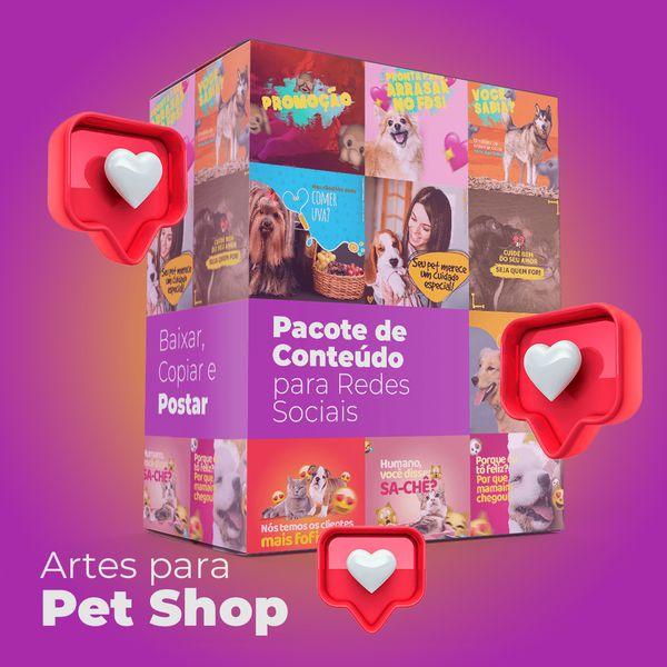 Imagem principal do produto 150 Artes para Pet Shop