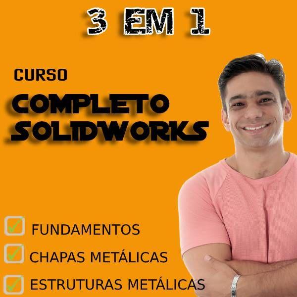 Imagem principal do produto Curso Completo de Solidworks
