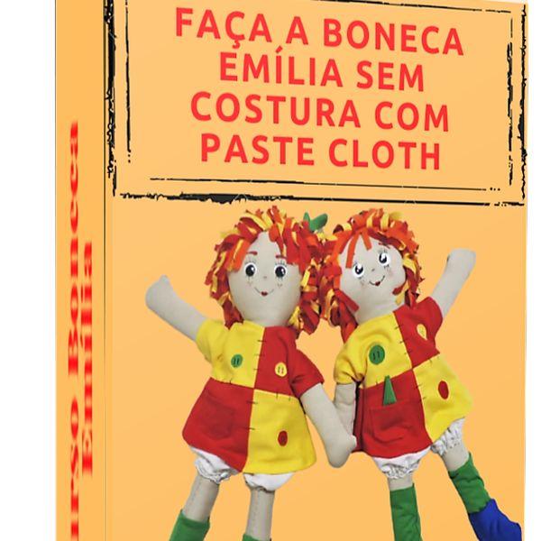 Imagem principal do produto Faça a Boneca Emília com o Método Paste Cloth