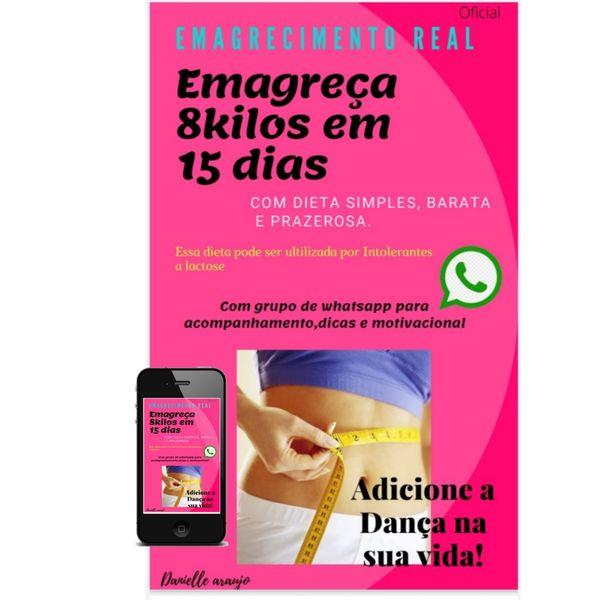 Imagem principal do produto EMAGRECIMENTO REAL seca 8 kls