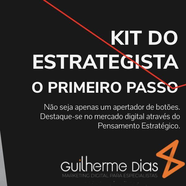Imagem principal do produto KIT DO ESTRATEGISTA DIGITAL - O PRIMEIRO PASSO