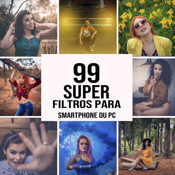 """Imagem principal do produto Edição profissional para suas fotos com um único toque """"99 SUPER Filtros pró, para fotos"""""""