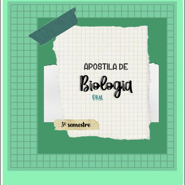 Imagem principal do produto Apostila de Biologia Oral para Odontologia