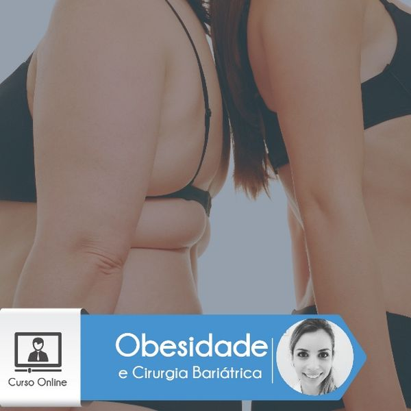 Imagem principal do produto CO2008 - Curso Online Obesidade e Cirurgia Bariátrica