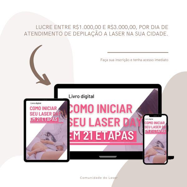 Imagem principal do produto Como iniciar seu Laser Day em 21 etapas